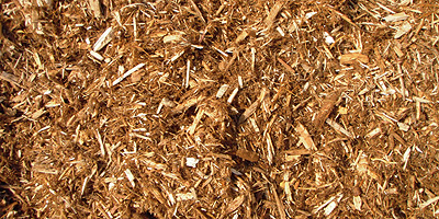 cedar shredded bark mulch